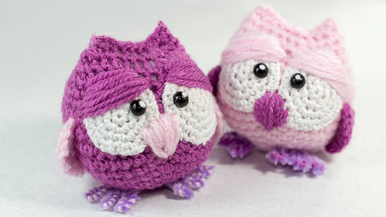 Owl Amigurumi Crochet Tutorial - YouTube | 720x1280