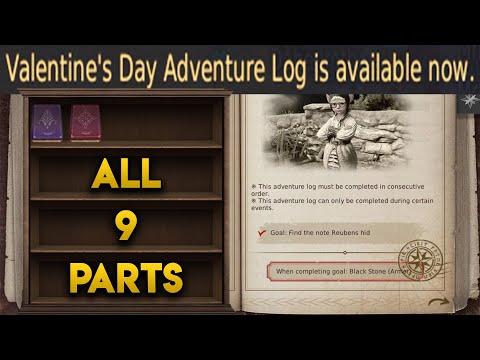 Full Valentine's Day Adventure Log Guide - Black Desert Online 2020