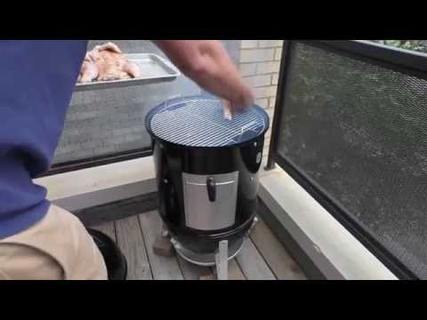 Smoking Whole Chickens with WSM