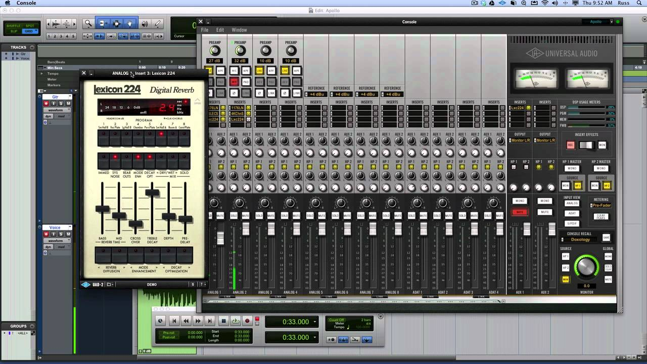 Universal Audio Apollo Review With Pro Tools - Extended ...