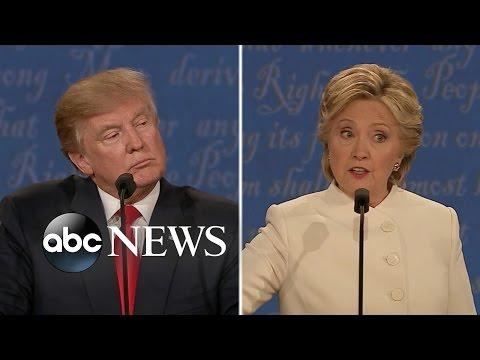 Hillary Clinton, Donald Trump Clash in Final Presidential Debate