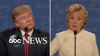 Third Presidential Debate BEST Moments | Trump, Clinton Clash