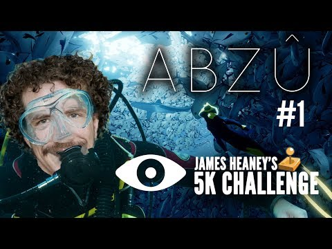 James Plays ABZÛ  #1 - The 5K Challenge