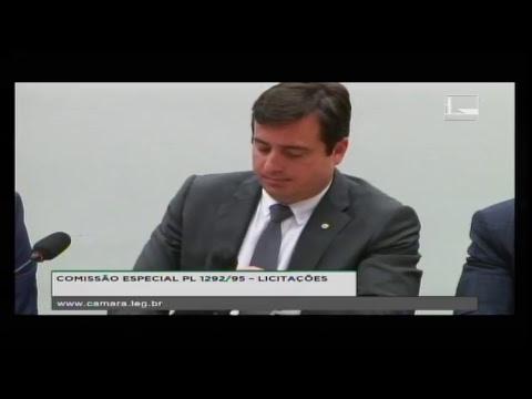 PL 1292/95 - LICITAÇÕES - Reunião Deliberativa - 04/04/2018 - 14:40