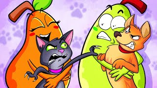 DOG VS CAT || Funny Things Pets Do by Pear Couple
