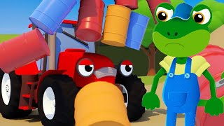 New Jobs For Big Trucks!・Gecko's Garage・Truck Cartoons For Kids・Learning For Toddlers