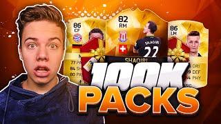 GEWELDIGE 100K PACKS! - FIFA 16 PACK OPENING NL