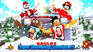 ROBLOX - SNOW SHOVEL SIMULATOR, GETTING THE BEST SNOW PLOW!!!