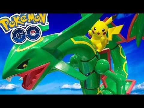 CAPTURE DE RAYQUAZA, LE GARDIEN DU CIEL ! - Pokémon GO