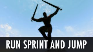 Skyrim Mod: Run Sprint and Jump