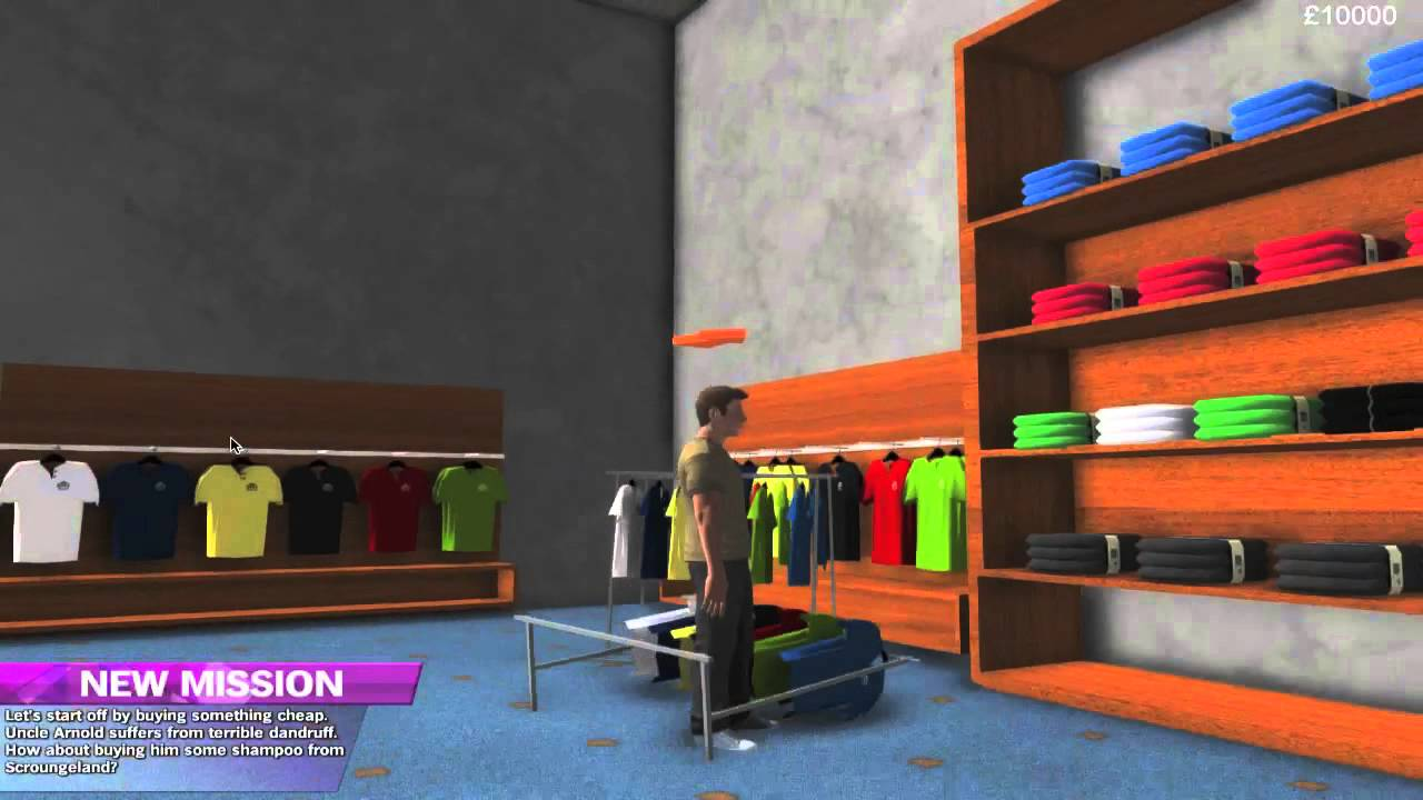 GAME Presents - Christmas Shopper Simulator Simon - YouTube