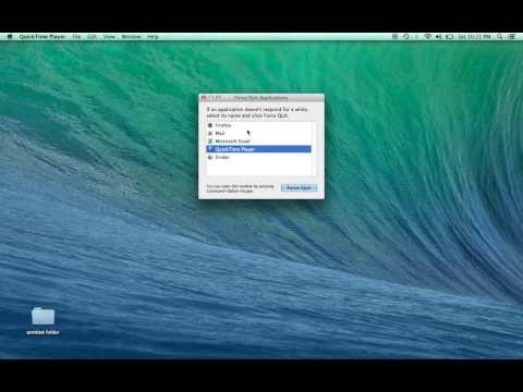 How to Ctrl Alt Del on a Mac