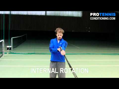 Wrist Pronation/Supination Exercise for Tennis
