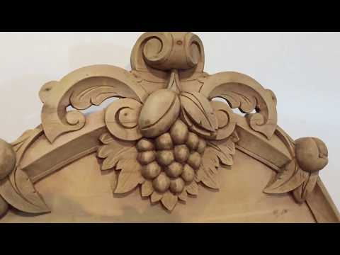 Beautiful Victorian Pine Chiffonier Sideboard - Pinefinders Old Pine Furniture Warehouse