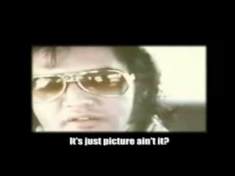 Rare footage of Elvis. Get's caught talking about his sexual excursions