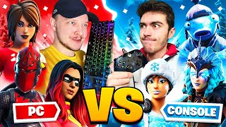 PC VS CONSOLE - Le 50vs50 tant attendu... (fortnite)