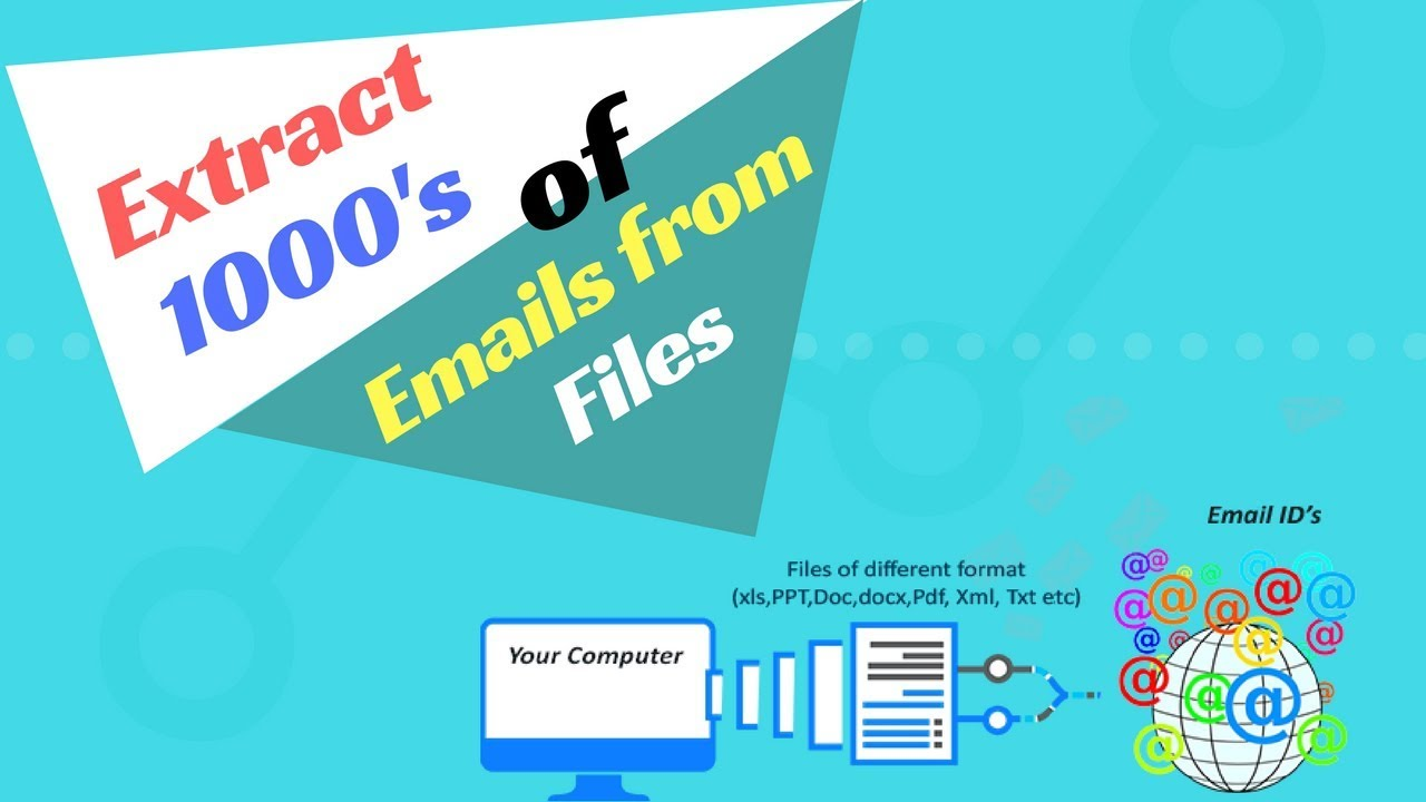 Files email Extractor|Super email extractor|Email Extractor