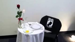 POW-MIA Table Ceremony Reading