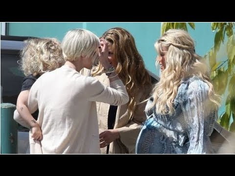 Jessica Simpson's Baby Shower With Ashlee Simpson, Jessica Alba, And More!
