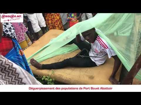 Déguerpies de leur habitations, des populations de Port Bouet Abattoir dorment au cimetière