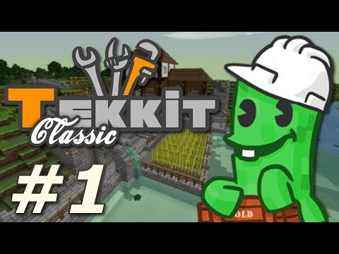 Minecraft: Tekkit Classic - Yes, We're Doing This (Part 1)