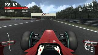 F1 2010 PC Gameplay 9800GT