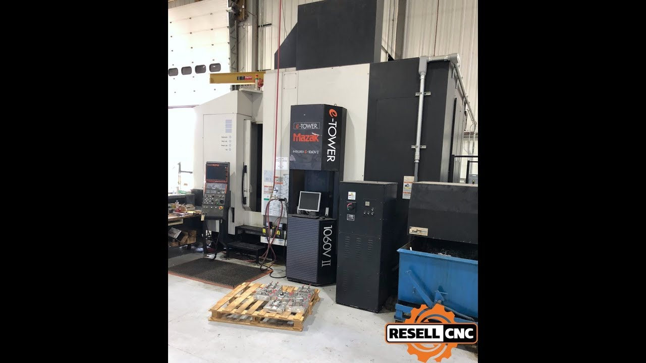 2007 Mazak Integrex E-1060V/8 5xis Mill/Turn Center