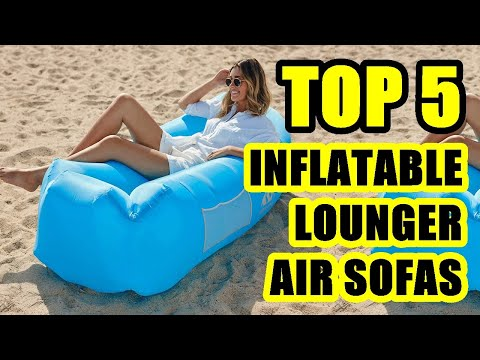 TOP 5: Best Inflatable Lounger Air Sofa 2020   Ideal For Beach Or Camping