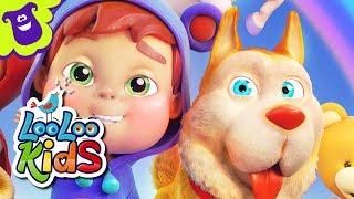 🐕 Bingo 🐶 Songs for Children | LooLoo Kids