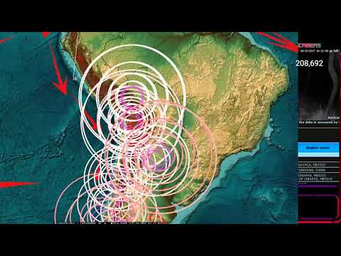 9/17/2017 -- Global Earthquake Forecast -- New Large earthquakes expected this week - Pacific unrest