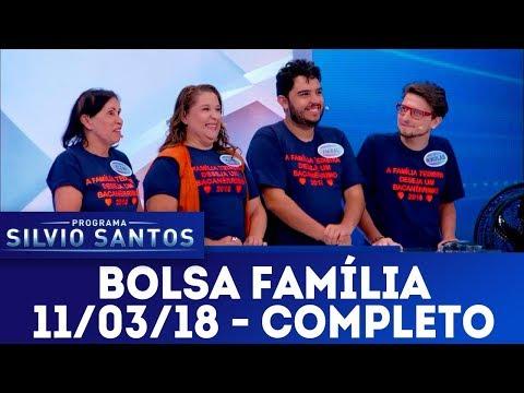 Bolsa Família - Completo | Programa Silvio Santos (11/03/18)