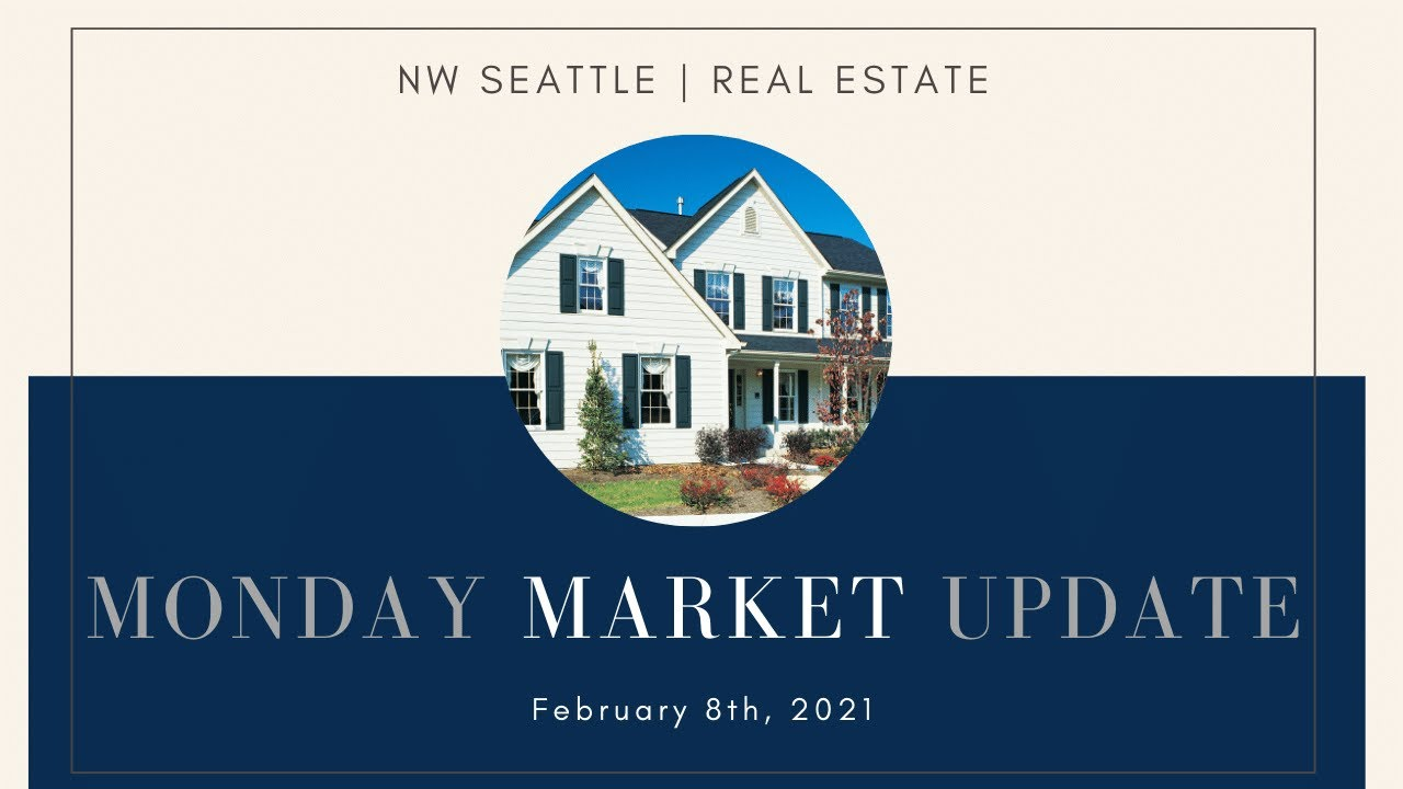 Monday NW Seattle Real Estate Market Update | February 8th, 2021