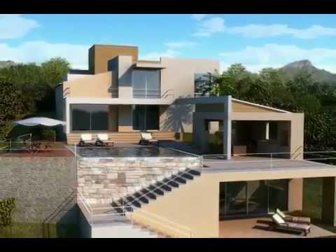 Fachadas de casas youtube - Fachadas casas de pueblo ...