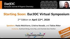 2nd EurJOC Virtual Symposium @EurJOC #YourJOC
