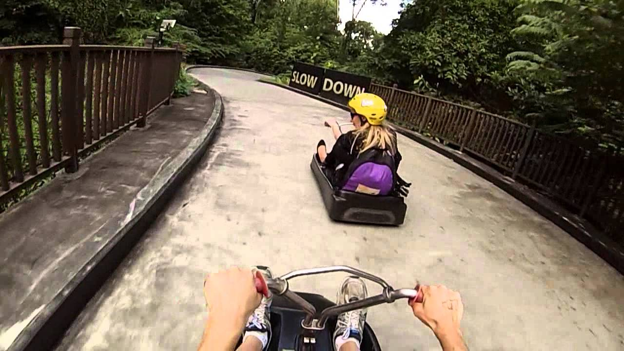 skyline luge sentosa how to get there
