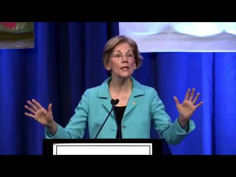 Senator Elizabeth Warren Addresses National Congress of American Indians