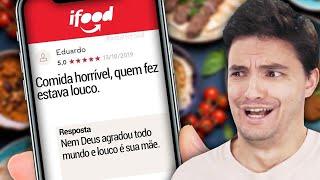 CONVERSAS DE IFOOD MAIS ENGRAÇADAS!