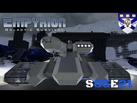 """Empyrion Galactic Survival (S05) -Ep 21 """"HV Tank Build Hammer"""" -Multiplayer """"Let's Play"""""""