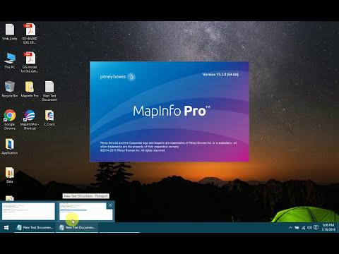 mapinfo professional 8.5 gratuit avec crack