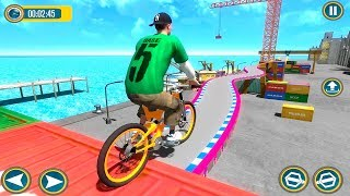 Bike Racing Games - BMX Top Racer Stunts - Gameplay Android free games
