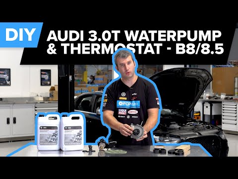 Audi B8/B8.5 S4 – 3.0T – Water pump and Thermostat Replacement DIY(S4, S5, SQ5, and More!)