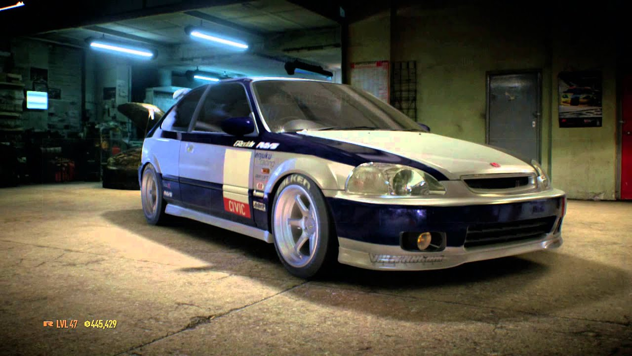 Need For Speed 2015 Kanjo Honda Civic Build Youtube