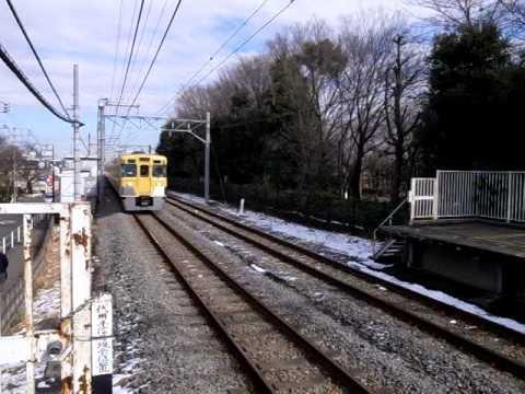 """Seibu-Kokubunji Line at Takanodai"" (100203-1042)"