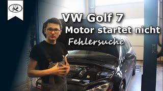 VW Golf 7 Motor Startet Nicht Fehlersuche  | VW Golf 7 troubleshooting | VitjaWolf  | Tutorial | HD