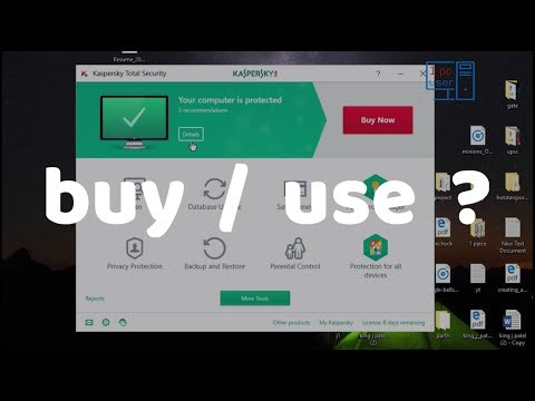 best paid antivirus for pc? - kaspersky total security 2018 full review