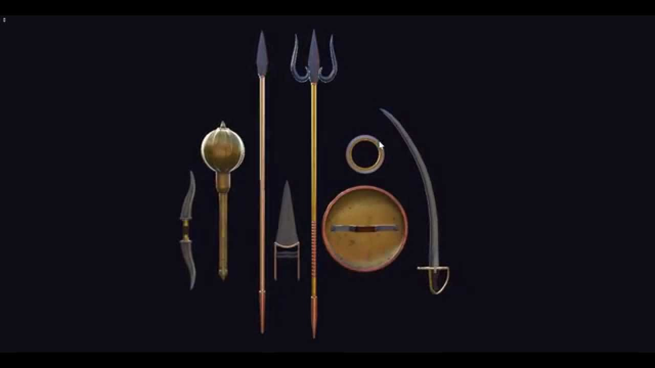 Ancient indian weapons