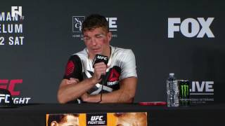UFC Fight Night Long Island: Darren Elkins Post-Fight Presser - I Want 'Zombie, Cub Swanson' Next