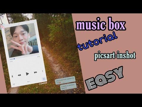TUTORIAL FÁCIL MUSIC BOX/ KPOP/ PICSART-INSHOT thumbnail