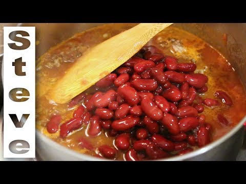 EASY CHILI RECIPE - Student Meal