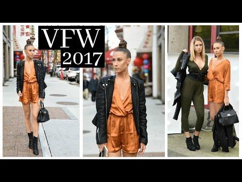 VANCOUVER FASHION WEEK VLOG │2017